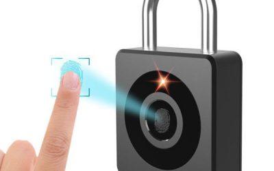 E-LinkSmart Fingerprint Padlock 300mAh Lithium Battery LP602525